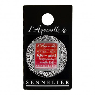 ACQUERELLO SENNELIER ½ GOD 636 S2 SENNELIER RED