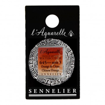 ACQUERELLO SENNELIER ½ GOD 645 S3 CHINESE ORANGE