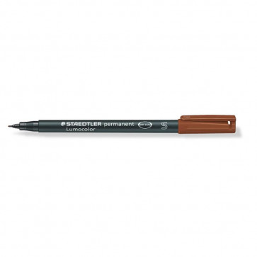 PENNARELLO STAEDTLER LUMOCOLOR PERMANENT 0.4mm MARRONE S