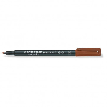 PENNARELLO STAEDTLER LUMOCOLOR PERMANENT 1.0mm MARRONE M