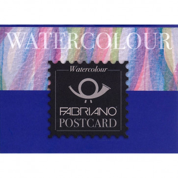 BLOCCO WATERCOLOUR POSTCARD 10X15 20 FG. 300 g/m² GRANA FINE