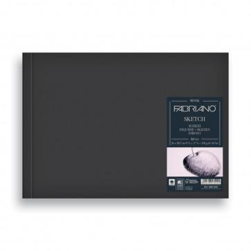 BLOCCO SKETCH BOOK 15X21 80 FOGLI 110 g/m² RILEGATI A LIBRO