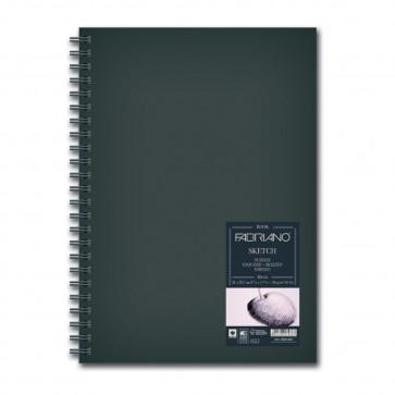 BLOCCO SKETCHBOOK 21X29,7 80 FOGLI 110 g/m² RILEGATI SPIRALE
