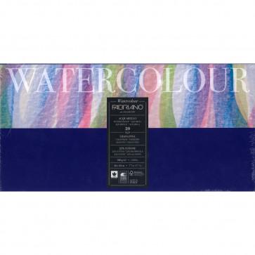 BLOCCO WATERCOLOUR 20X40 20 FOGLI 300 g/m² GRANA FINE