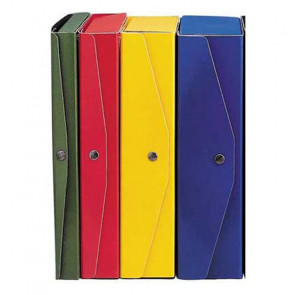 SCATOLA ARCHIVIO PROJECT 23X35 DORSO 4cm BLU