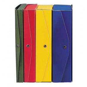 SCATOLA ARCHIVIO PROJECT 23X35 DORSO 12cm BLU