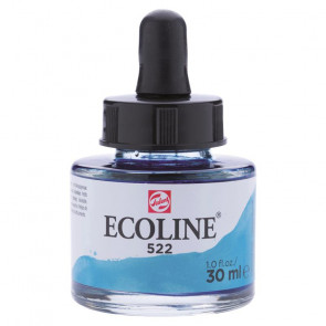 TALENS ECOLINE 30 ml          N. 522 TURQUOISE BLUE