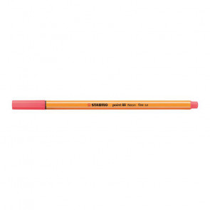 STABILO POINT 88 N. 040      NEON ROSSO