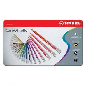 MATITE STABILO CARBOTHELLO 48 COLORI CASSETTA DI METALLO