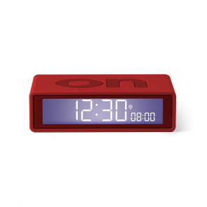 LEXON FLIP + SVEGLIA LCD RADIOCONTROLLATA RED