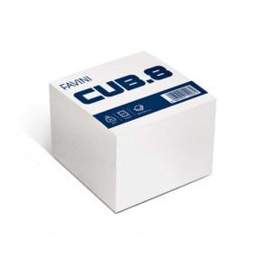 BLOCCO A CUBO BIANCO CUB.8 95X95 mm 700 FOGLI 85 g/m²