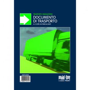 DOCUMENTO DI TRASPORTO MODULI AUTOCALCANTI 2 COPIE 23X14