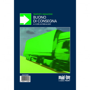 BUONI DI CONSEGNA MODULI AUTOCALCANTI 2 COPIE 14X21