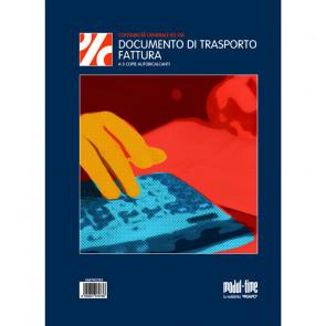 DOCUMENTO DI TRASPORTO/FATTURA MODULI CALCANTI 3 COPIE 20X30