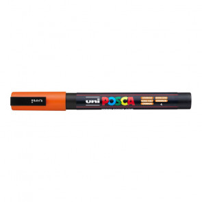 UNI POSCA FINE PC-3M 1.3 mm   COLORE ARANCIO 4