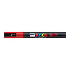 UNI POSCA FINE PC-3M 1.3 mm COLORE 15 ROSSO