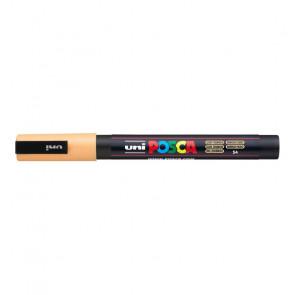 UNI POSCA FINE PC-3M 1.3 mm   COLORE ARANCIONE CHIARO 54
