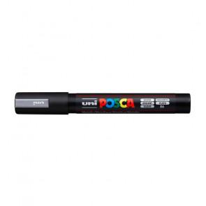 UNI POSCA MEDIO PC-5M 2.5mm   COLORE ARGENTO 26