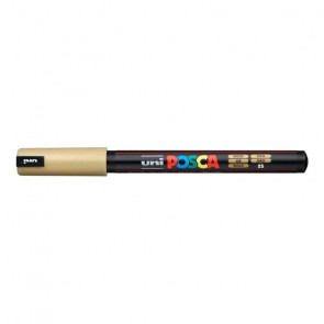 UNIPOSCA PENNA PC-1MR/MD 0.7mm COLORE ORO 25