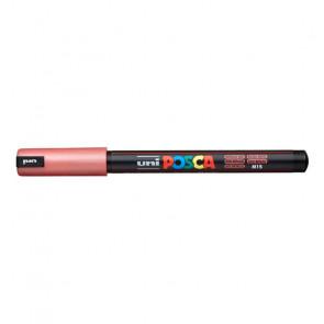 UNIPOSCA PENNA PC-1MR/MD 0.7mm COLORE ROSSO METALLICO M15