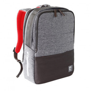 ZAINO NAVA PASSENGER BACKPACK TECH DARK GREY/RED