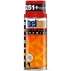 MOLOTOW PREMIUM BELTON 400 ml COLORE 033 SIGNAL RED