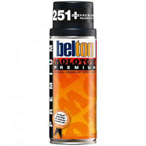 MOLOTOW PREMIUM BELTON 400 ml COLORE 221 DEEP BLACK