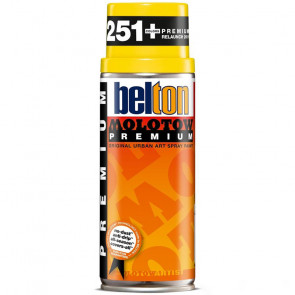 MOLOTOW PREMIUM BELTON 400 ml COLORE 003 CADMIUM YELLOW