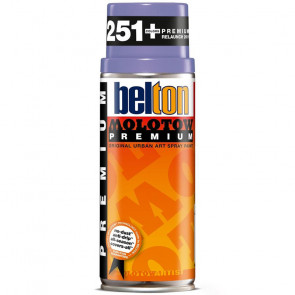 MOLOTOW PREMIUM BELTON 400 ml COLORE 076 VIOLA MIDDLE