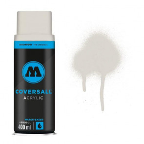MOLOTOW COVERSALL 400 ml      100 LIGHT GREY NATURAL