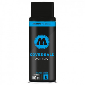 MOLOTOW COVERSALL 400 ml      180 SIGNAL BLACK