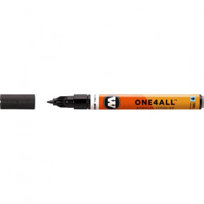 MOLOTOW MARKER 127HS PUNTA 1mm 180 SIGNAL BLACK