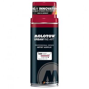 MOLOTOW SPRAY 400 ml N. 086   BURGUNDY