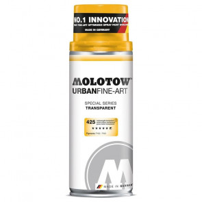 MOLOTOW URBAN FINE-ART 400 ml 425 MELON YELLOW TRANSPARENT