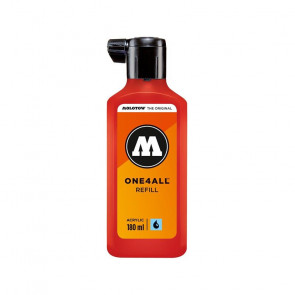 INCHIOSTRO MOLOTOW ONE4ALL 180 ml N. 013 TRAFFIC RED