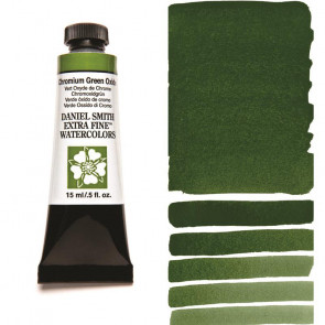 ACQUERELLO DANIEL SMITH 15ml  S1 CHROMIUM GREEN OXIDE