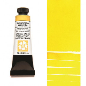 ACQUERELLO DANIEL SMITH 15ml  S3 CADMIUM YELLOW MEDIUM HUE