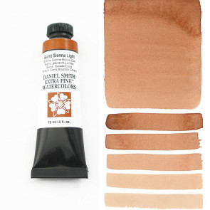 ACQUERELLO DANIEL SMITH 15ml  S1 BURNT SIENNA LIGHT
