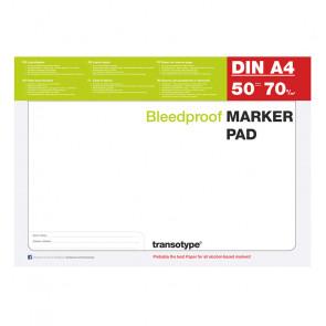 BLOCCO PER MARKERS A4 TRANSOTYPE FAVINI 50 FOGLI 75 g/m²