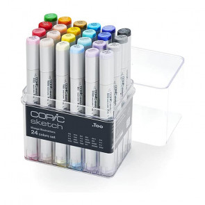 PENNARELLI COPIC SKETCH SET DA 24 COLORI