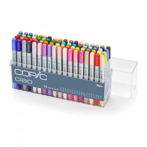 "SET COPIC CIAO ""B"" 72 COLORI"
