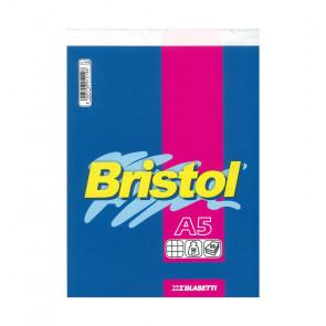 BLOCCO BRISTOL 15X21 SPILLATO 60 FOGLI 50 g/m² QUADRETTO 5mm