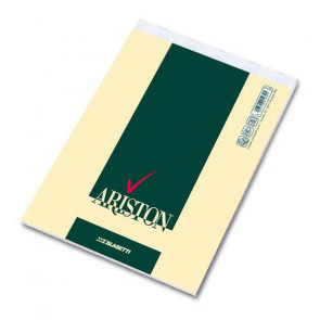 BLOCCO ARISTON 8X12 SPILLATO  70 FOGLI 60 g/m² QUADRETTO 5mm