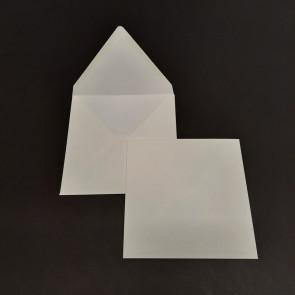 BUSTA DA LETTERA ACQUERELLO 15,7X15,7 cm COLORE BIANCO