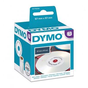 ETICHETTE DYMO WRITER CD/DVD  160 ETICHETTE BIANCHE