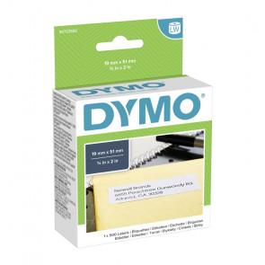 ETICHETTE DYMO WRITER 19X51 BIANCHE 500 ETICHETTE