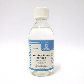 VERNICE FINALE ACRILICA 250 ml FERRARIO