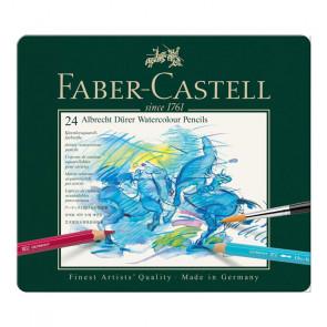 FABER CASTELL ALBRECHT DÜRER  24 COLORI ASTUCCIO IN METALLO