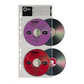 BUSTE PORTA CD CD4 14X31 CAPACITA' 4 CD