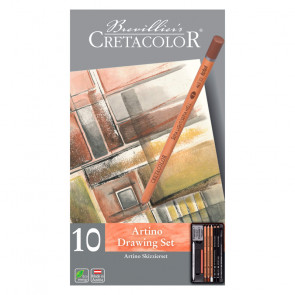 SET CRETACOLOR ARTINO DRAWING ASSORTIMENTO 10 PEZZI